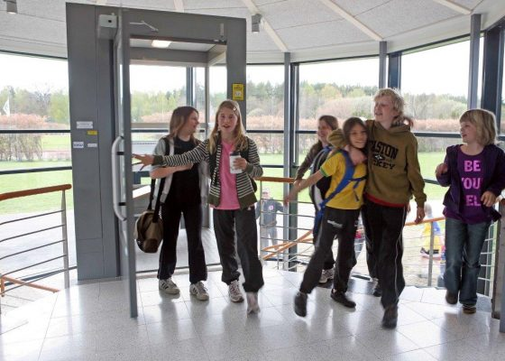 Gartec Platform Lifts for Schools, Colleges and Education