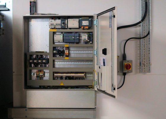 Gartec Goods Lift - Control Electrical Cabinet
