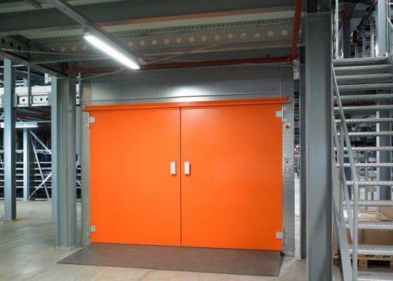 Gartec Goods Lift - Special RAL