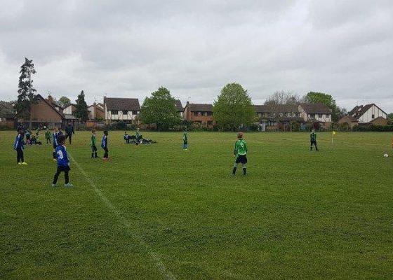Gartec sponsored team - Linslade Galaxy U10s FC
